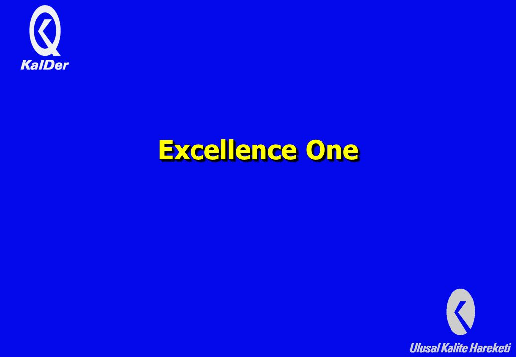 Excellence One