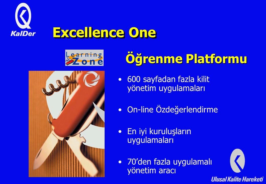 Excellence One Öğrenme Platformu