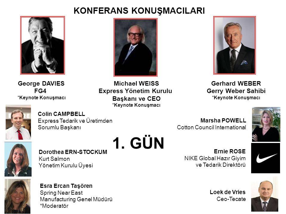 KONFERANS KONUŞMACILARI Express Yönetim Kurulu