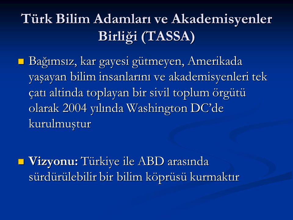 Türk Bilim Adamları ve Akademisyenler Birliği (TASSA)