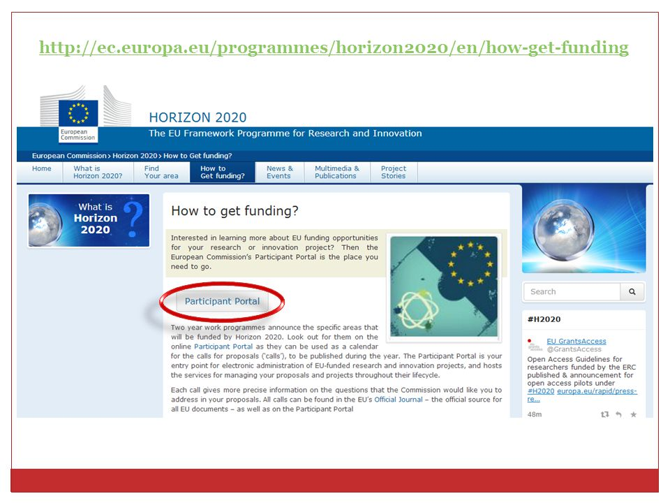 http://ec.europa.eu/programmes/horizon2020/en/how-get-funding