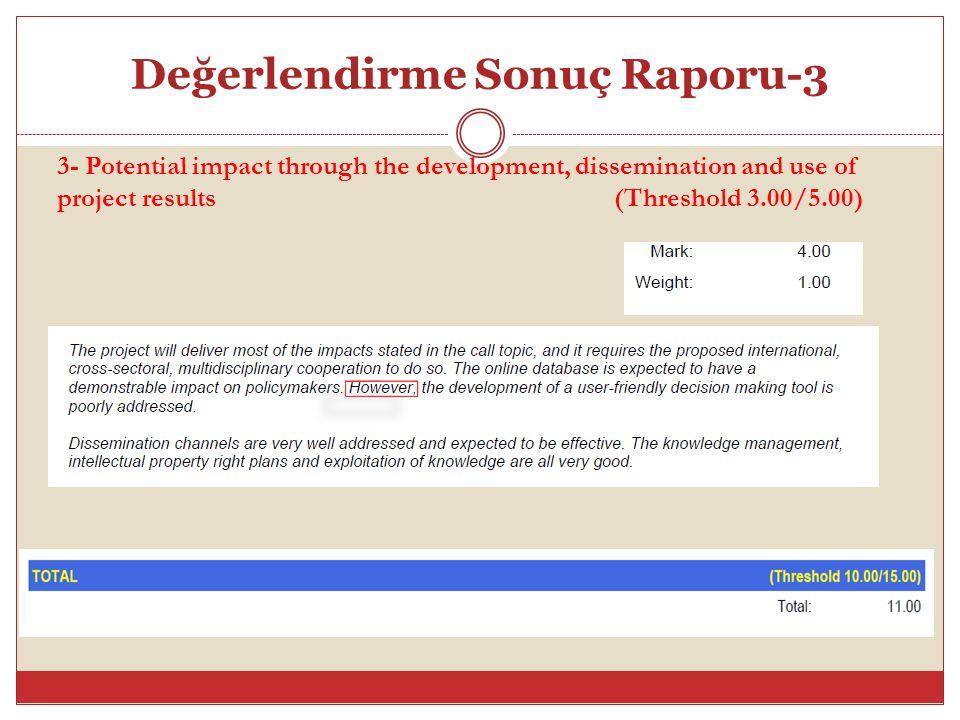 Değerlendirme Sonuç Raporu-3