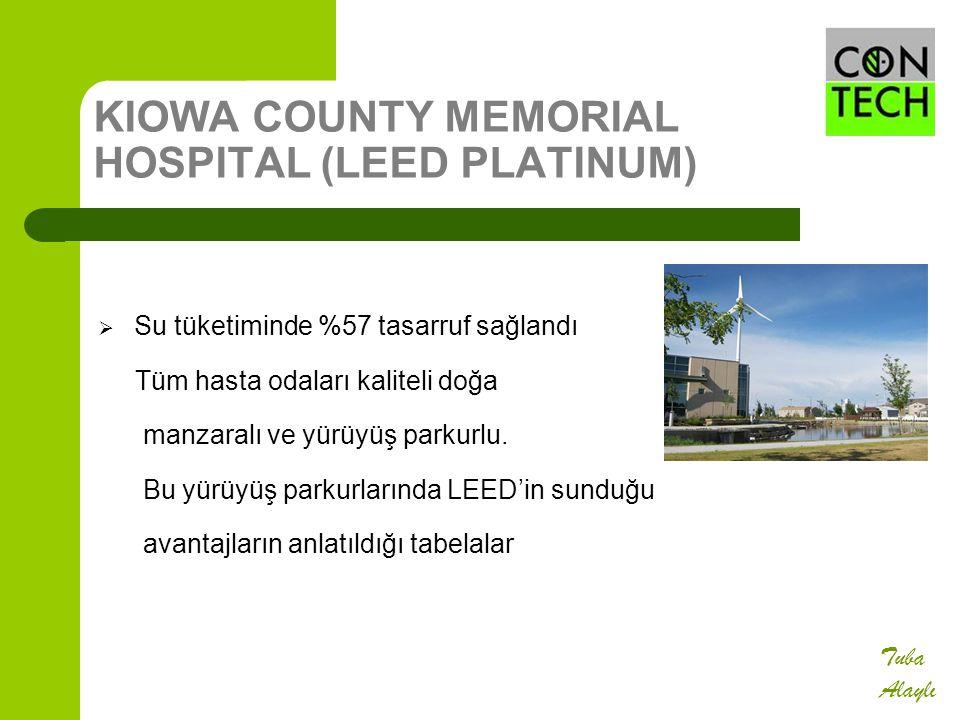 KIOWA COUNTY MEMORIAL HOSPITAL (LEED PLATINUM)