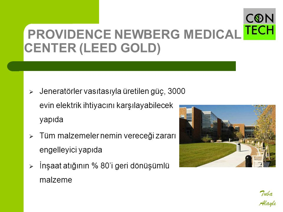 PROVIDENCE NEWBERG MEDICAL CENTER (LEED GOLD)