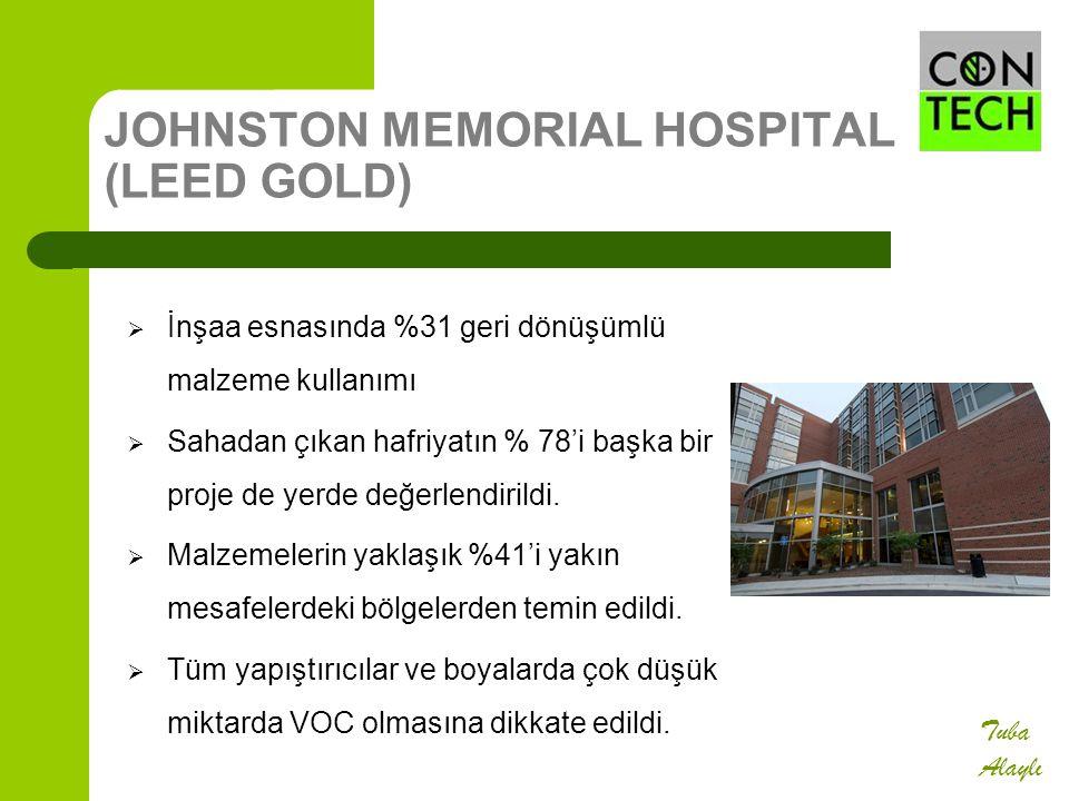 JOHNSTON MEMORIAL HOSPITAL (LEED GOLD)