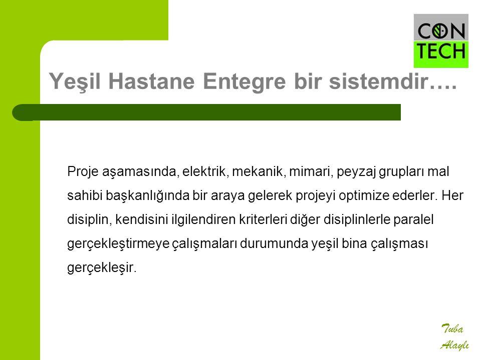 Yeşil Hastane Entegre bir sistemdir….