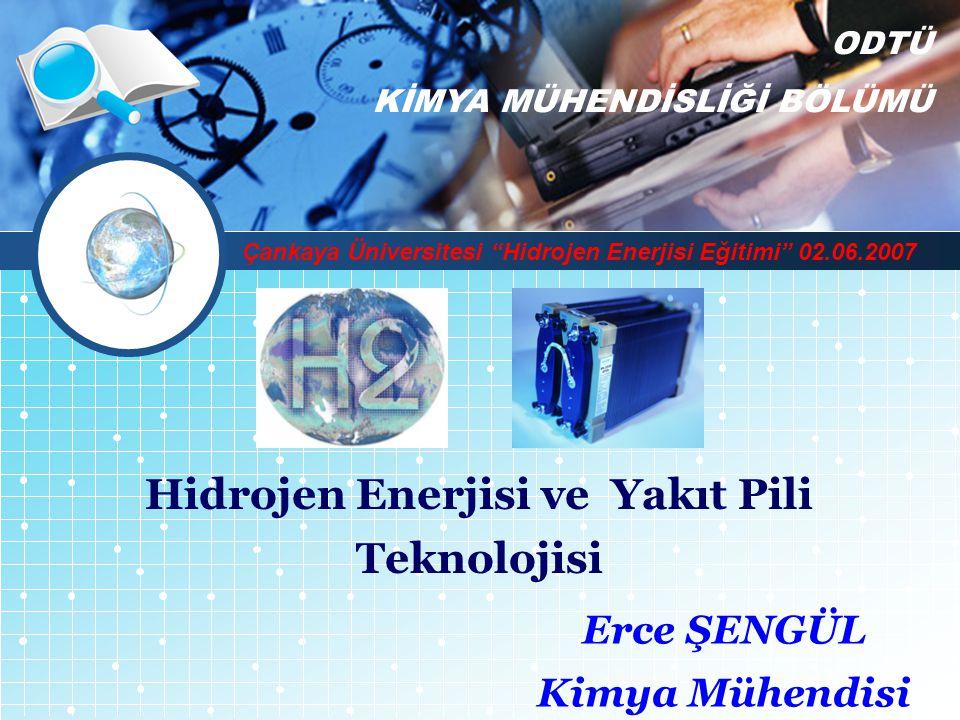 Hidrojen Enerjisi ve Yakıt Pili Teknolojisi