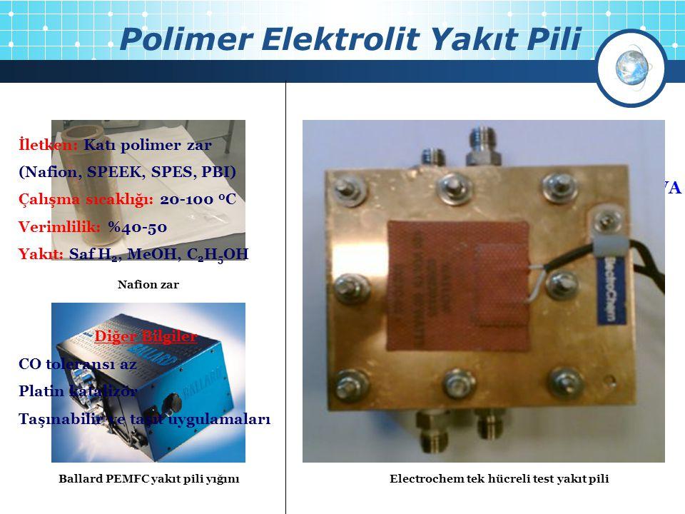 Polimer Elektrolit Yakıt Pili