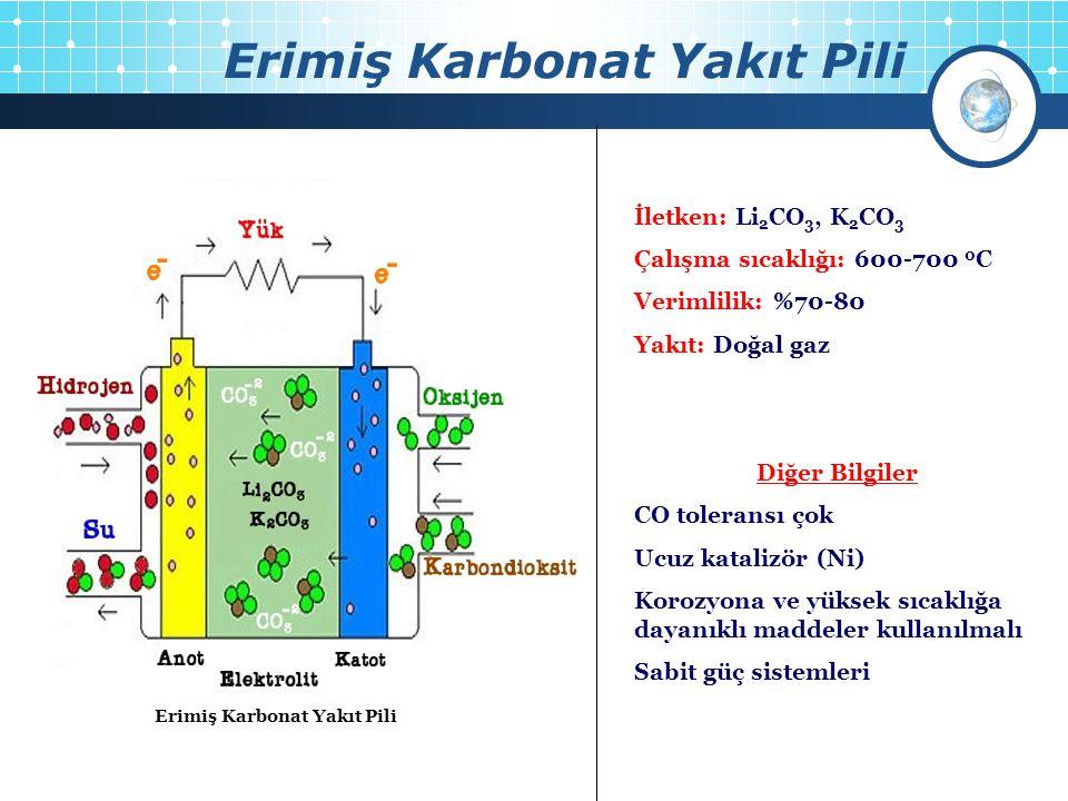Erimiş Karbonat Yakıt Pili