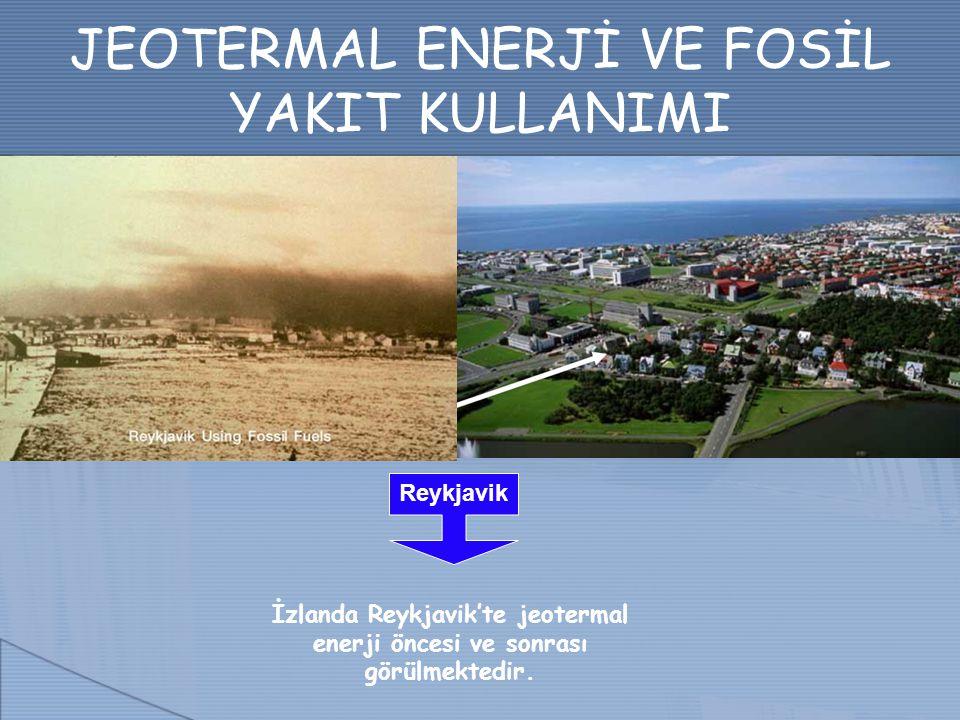 JEOTERMAL ENERJİ VE FOSİL YAKIT KULLANIMI