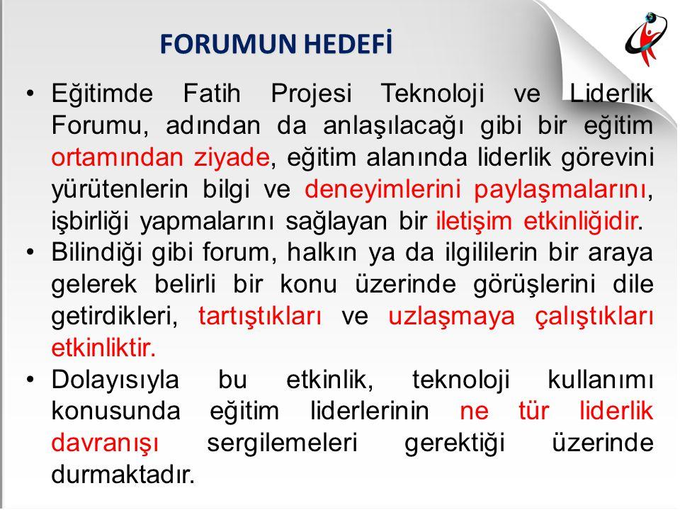 FORUMUN HEDEFİ