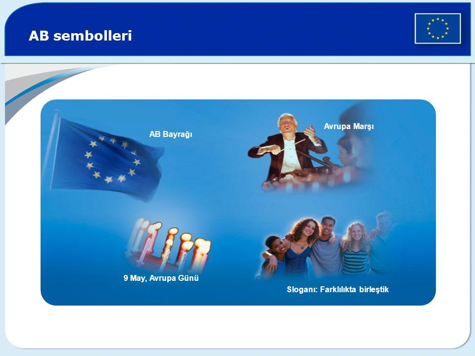 AB sembolleri Avrupa Marşı AB Bayrağı 9 May, Avrupa Günü