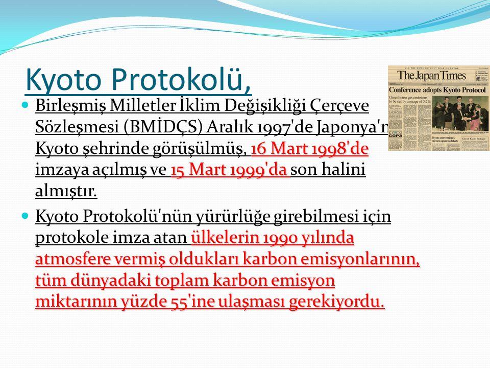 Kyoto Protokolü,