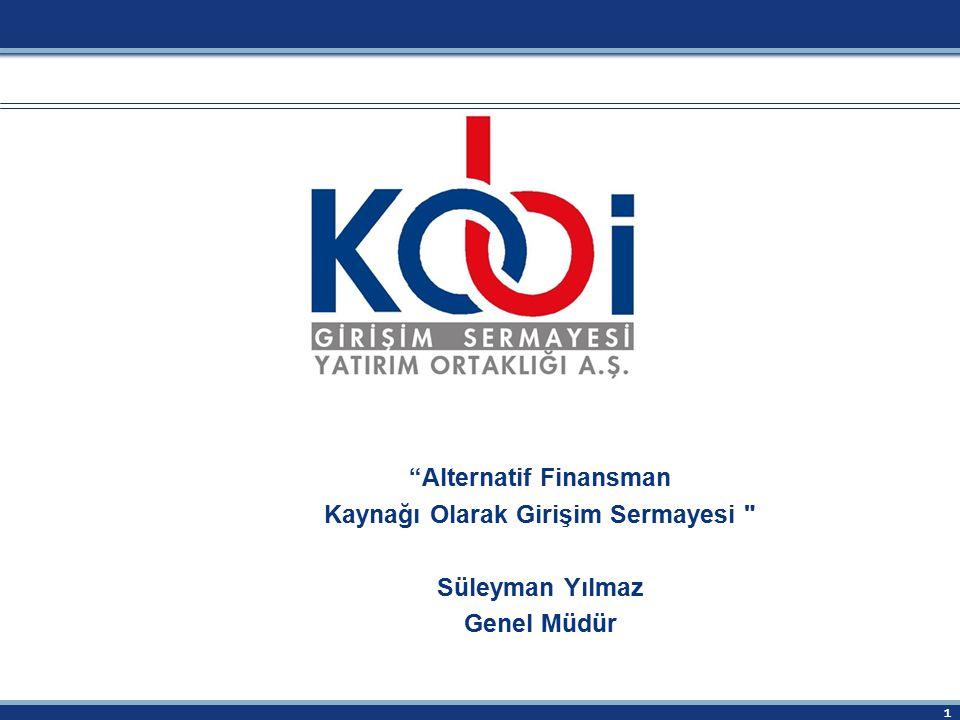 Alternatif Finansman Kaynağı Olarak Girişim Sermayesi