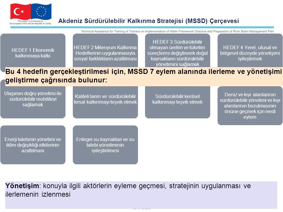 Akdeniz Sürdürülebilir Kalkınma Stratejisi (MSSD) Çerçevesi