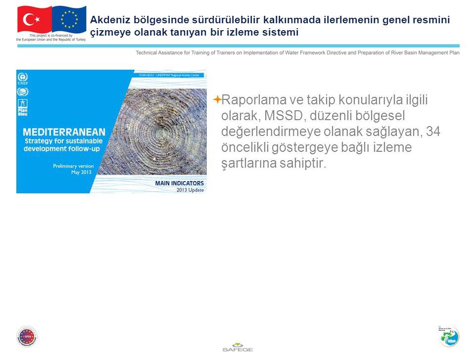 Akdeniz bölgesinde sürdürülebilir kalkınmada ilerlemenin genel resmini çizmeye olanak tanıyan bir izleme sistemi