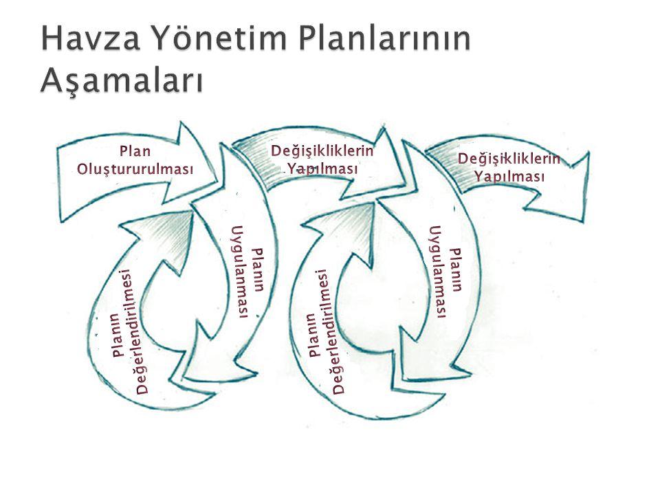 Havza Yönetim Planlarının Aşamaları