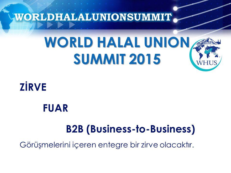 WORLD HALAL UNION SUMMIT 2015