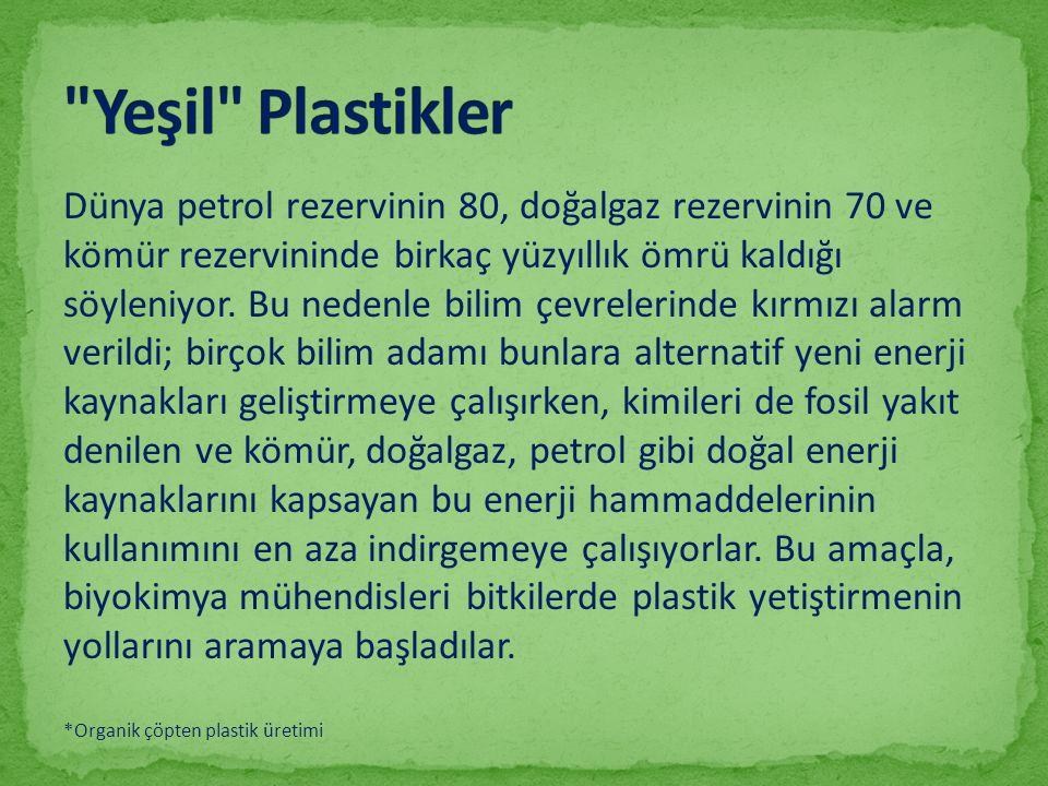 Yeşil Plastikler