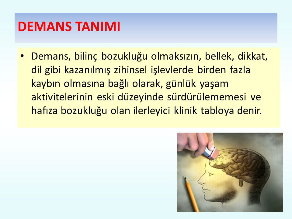 DEMANS TANIMI