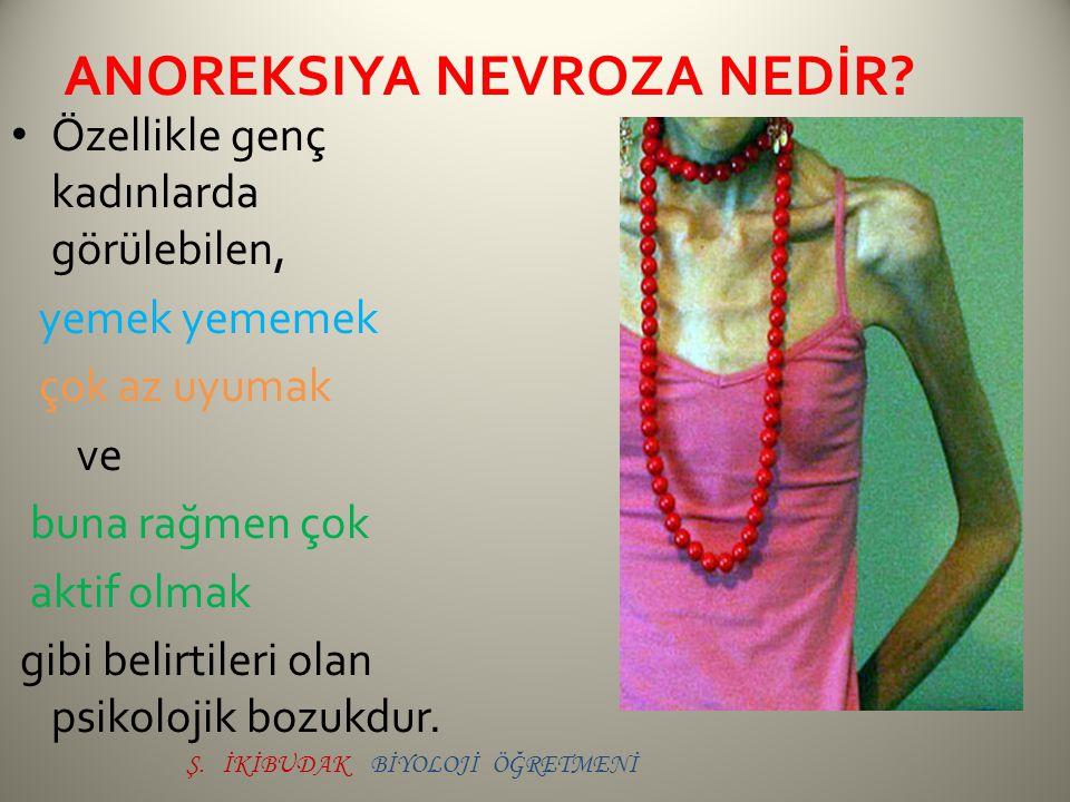 anoreksiya nevroza NEDİR