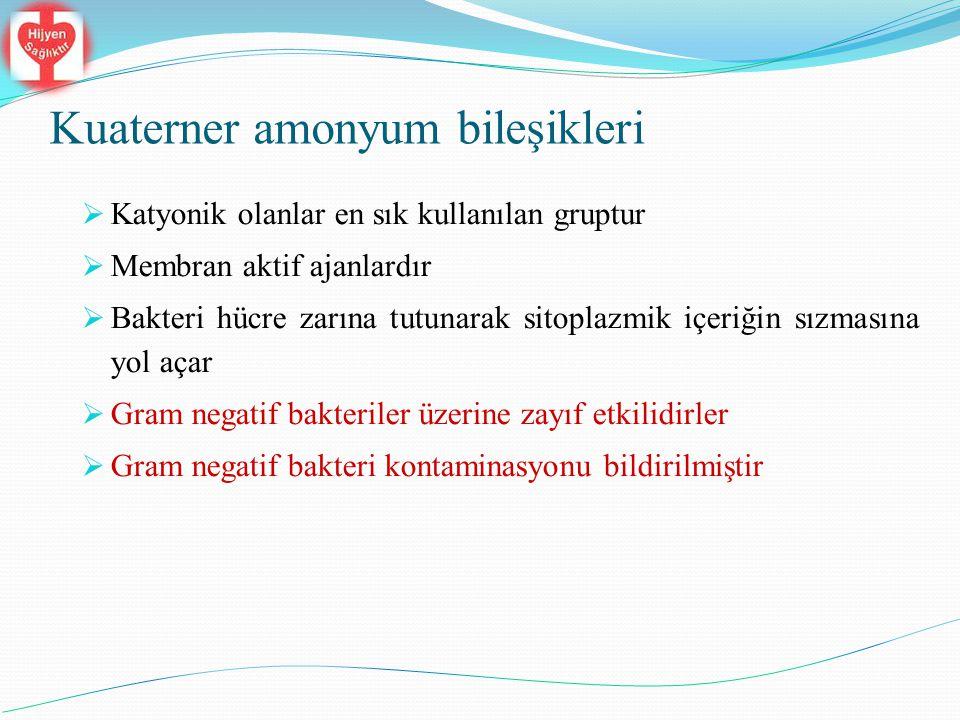 Kuaterner amonyum bileşikleri