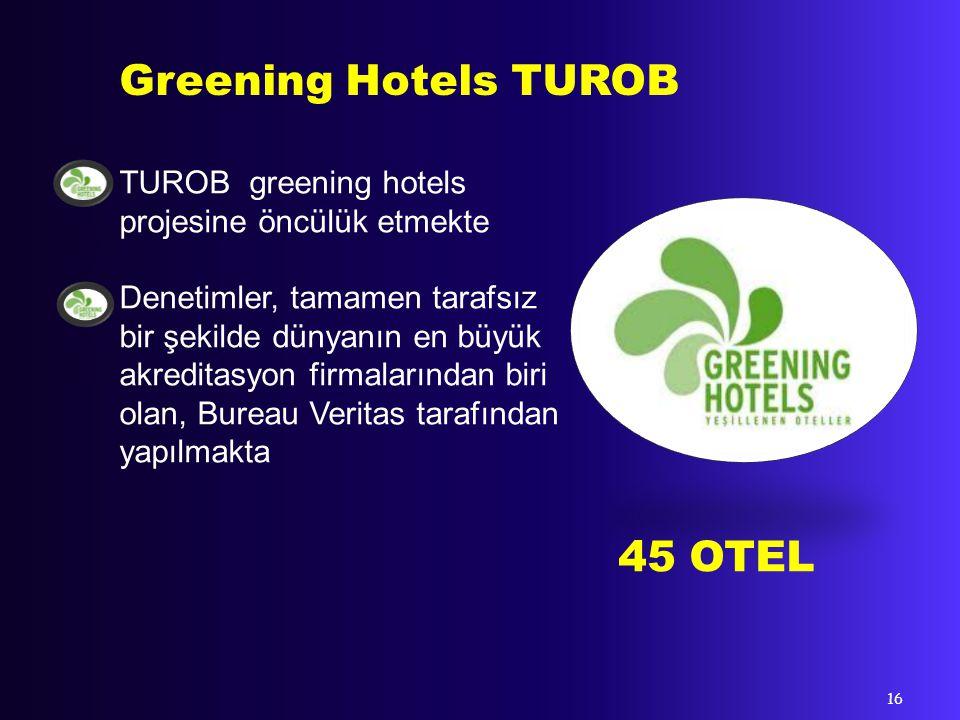 Greening Hotels TUROB 45 OTEL
