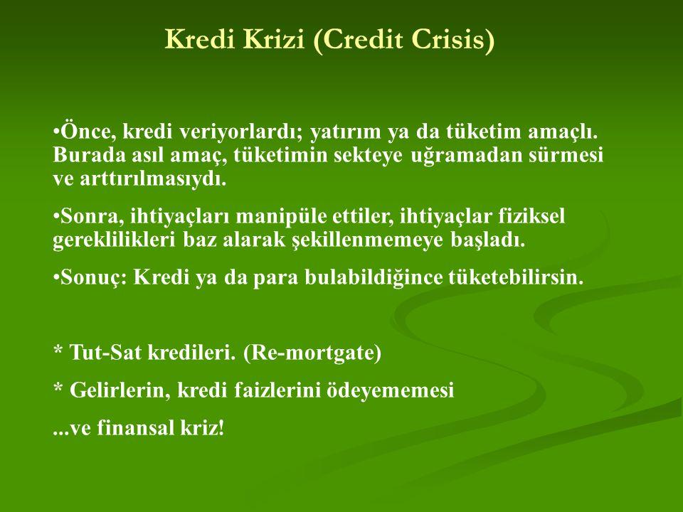 Kredi Krizi (Credit Crisis)