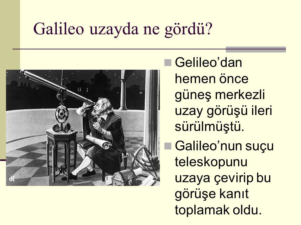 Galileo uzayda ne gördü