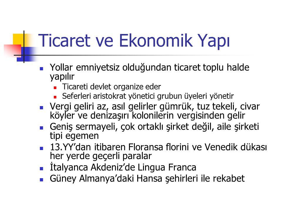 Ticaret ve Ekonomik Yapı