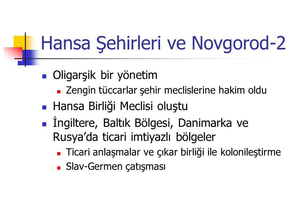 Hansa Şehirleri ve Novgorod-2