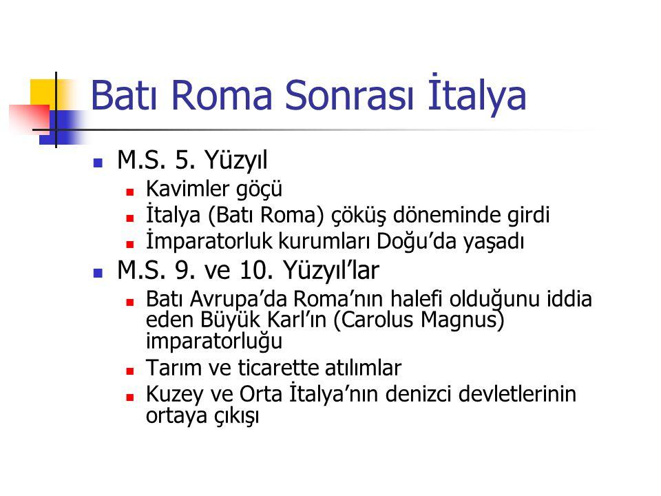 Batı Roma Sonrası İtalya