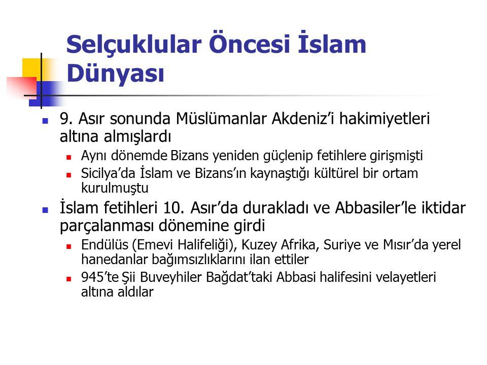 Selçuklular Öncesi İslam Dünyası