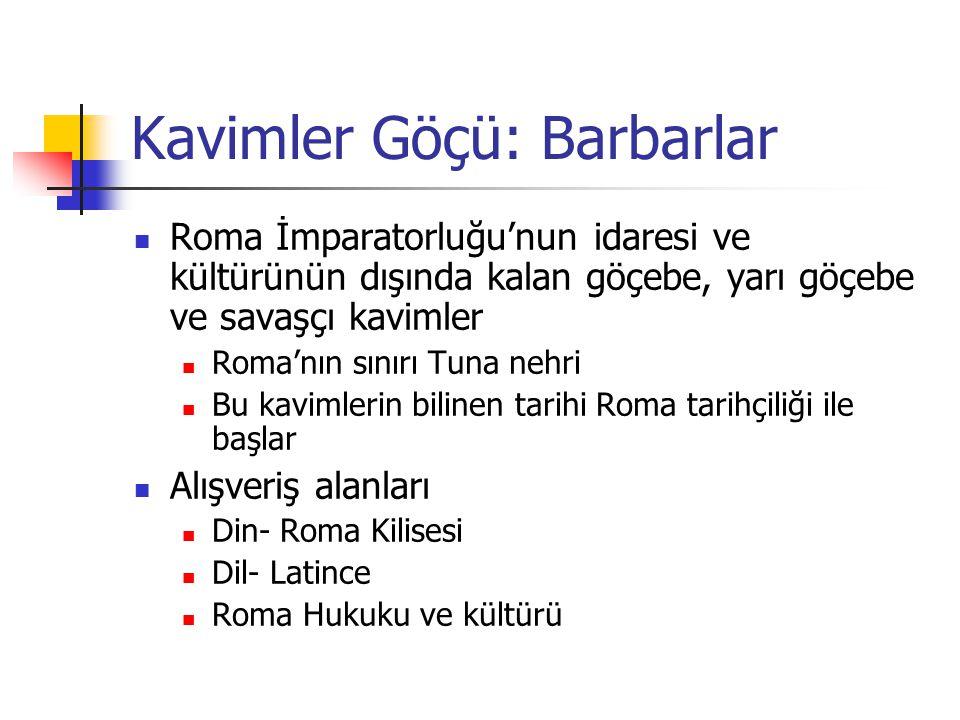 Kavimler Göçü: Barbarlar
