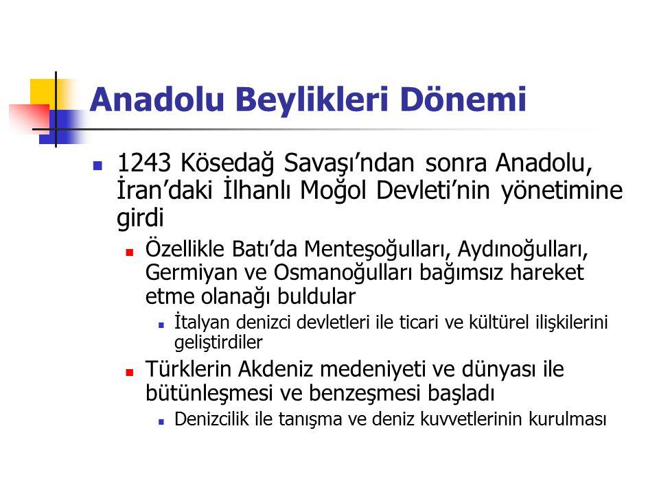 Anadolu Beylikleri Dönemi