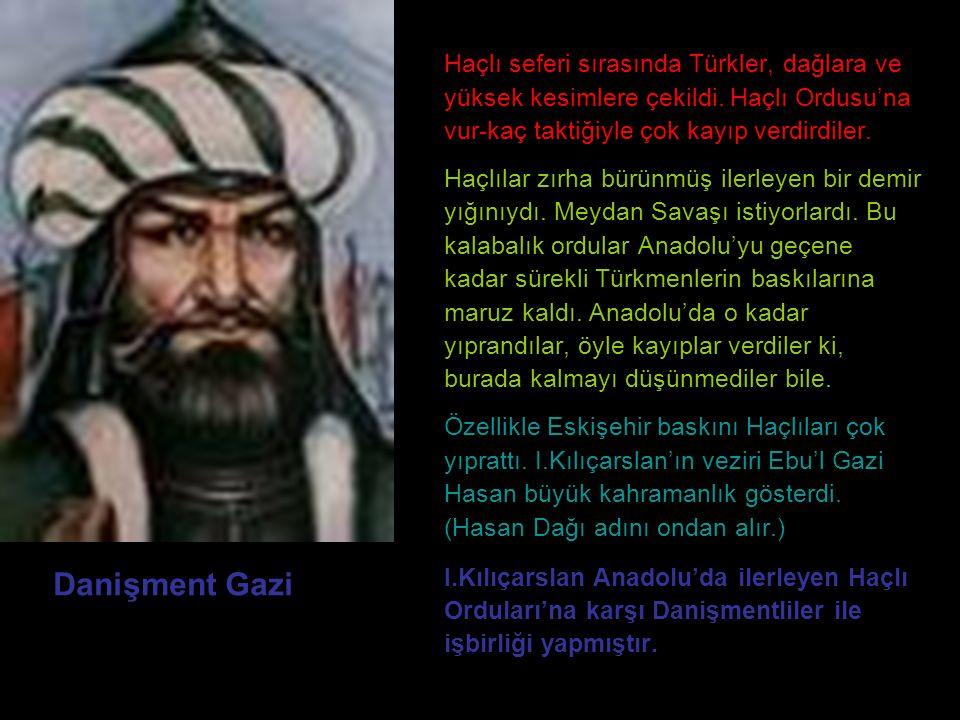 Haçlı seferi sırasında Türkler, dağlara ve yüksek kesimlere çekildi