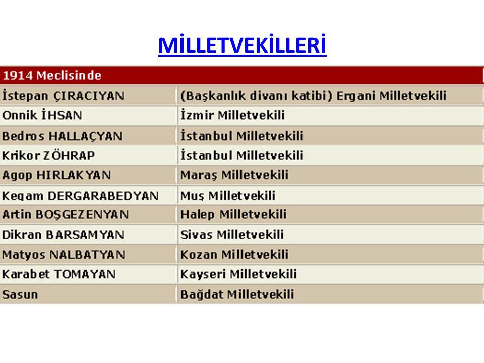 MİLLETVEKİLLERİ