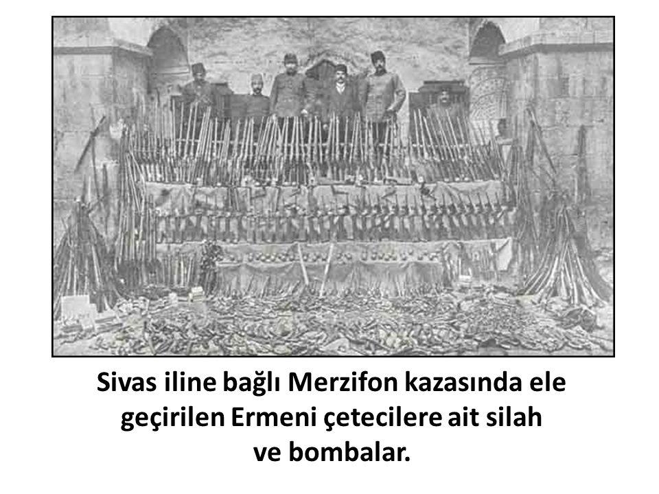 Sivas iline bağlı Merzifon kazasında ele