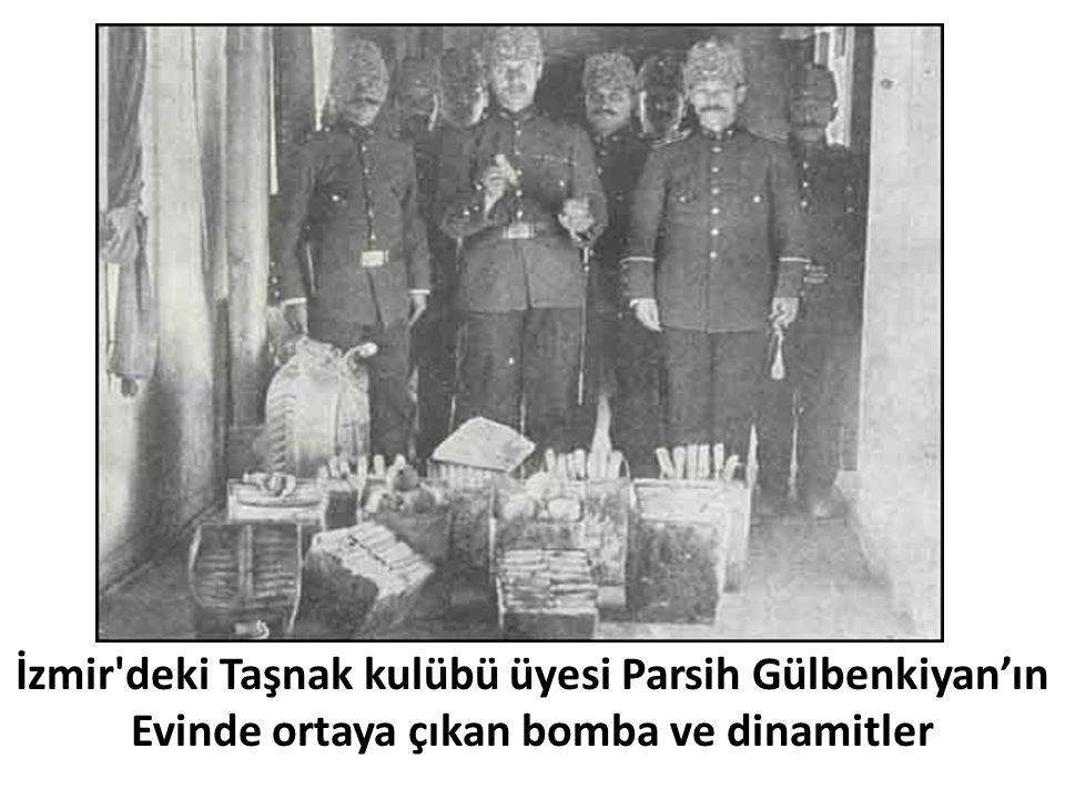 İzmir deki Taşnak kulübü üyesi Parsih Gülbenkiyan'ın