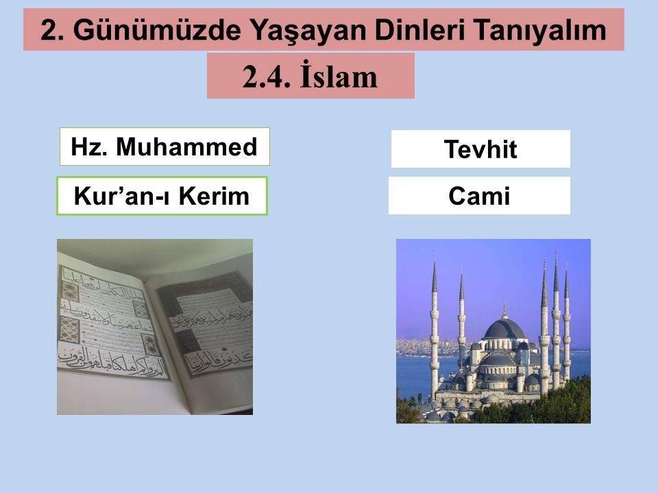 2. Günümüzde Yaşayan Dinleri Tanıyalım