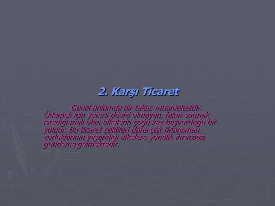 2. Karşı Ticaret