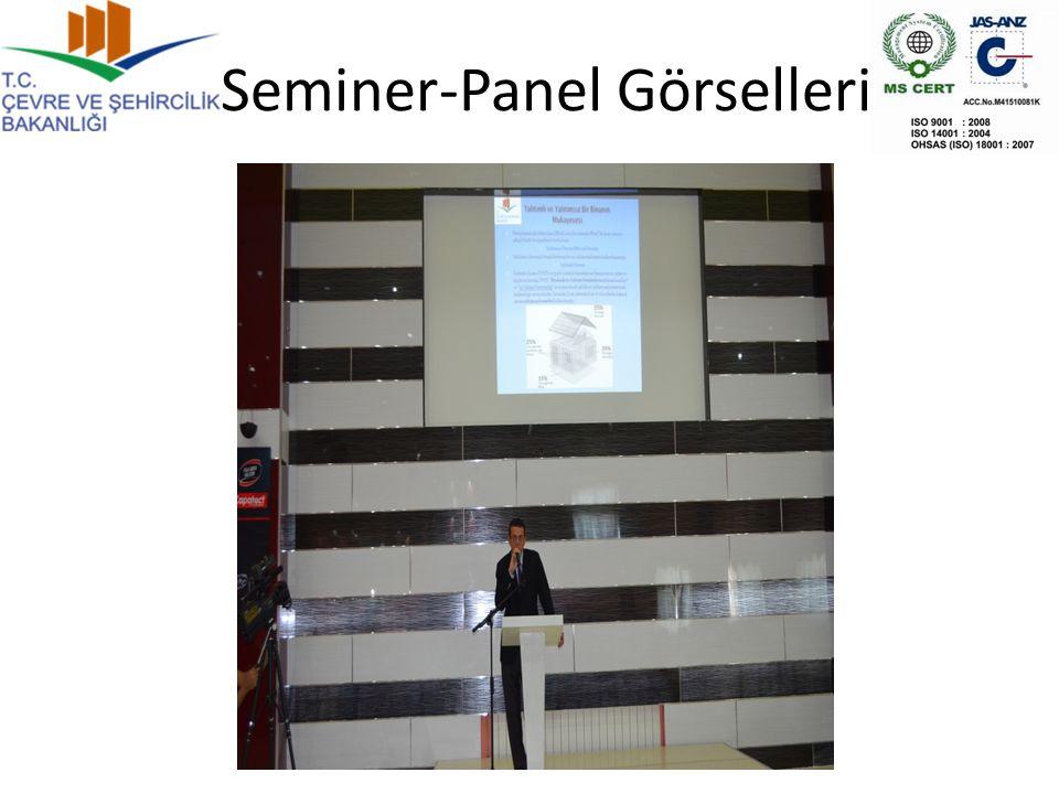 Seminer-Panel Görselleri