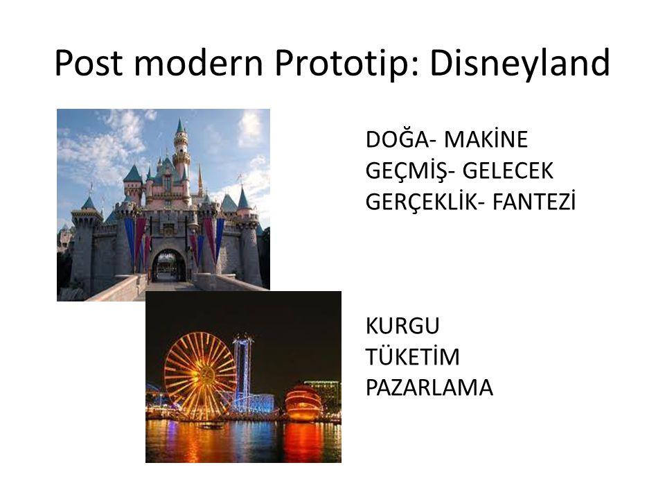 Post modern Prototip: Disneyland