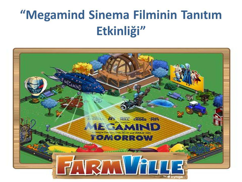 Megamind Sinema Filminin Tanıtım Etkinliği