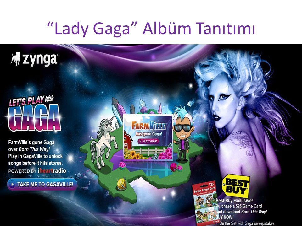 Lady Gaga Albüm Tanıtımı
