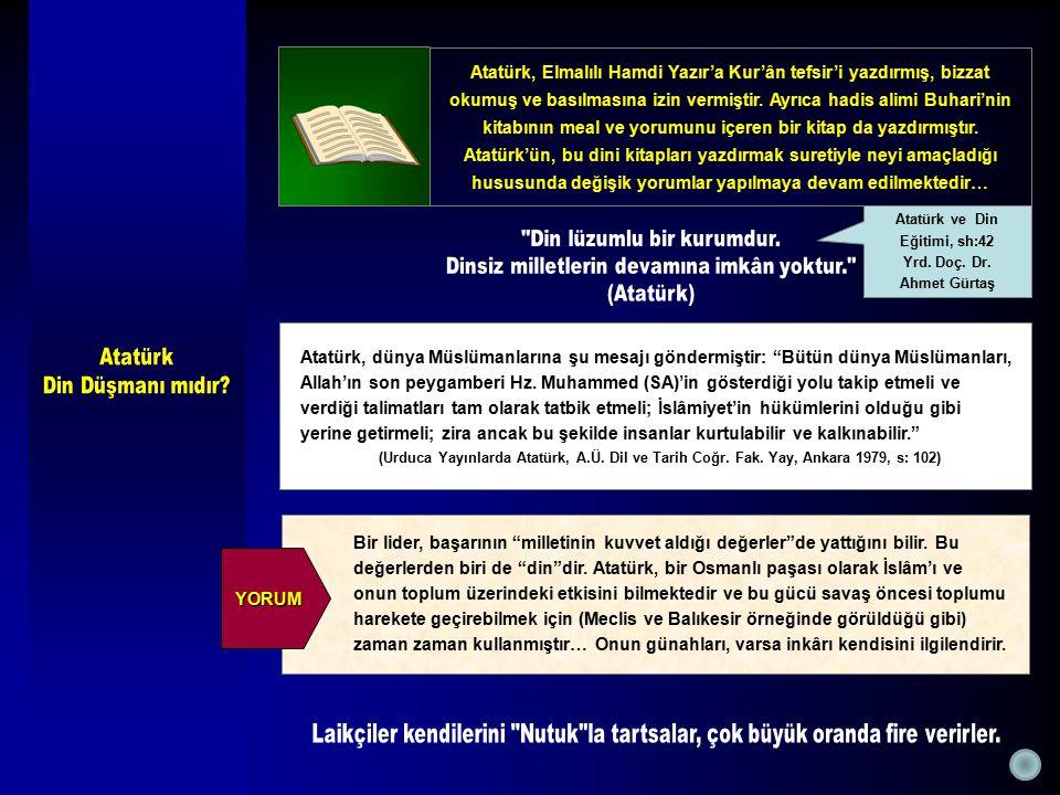 Atatürk ve Din Eğitimi, sh:42