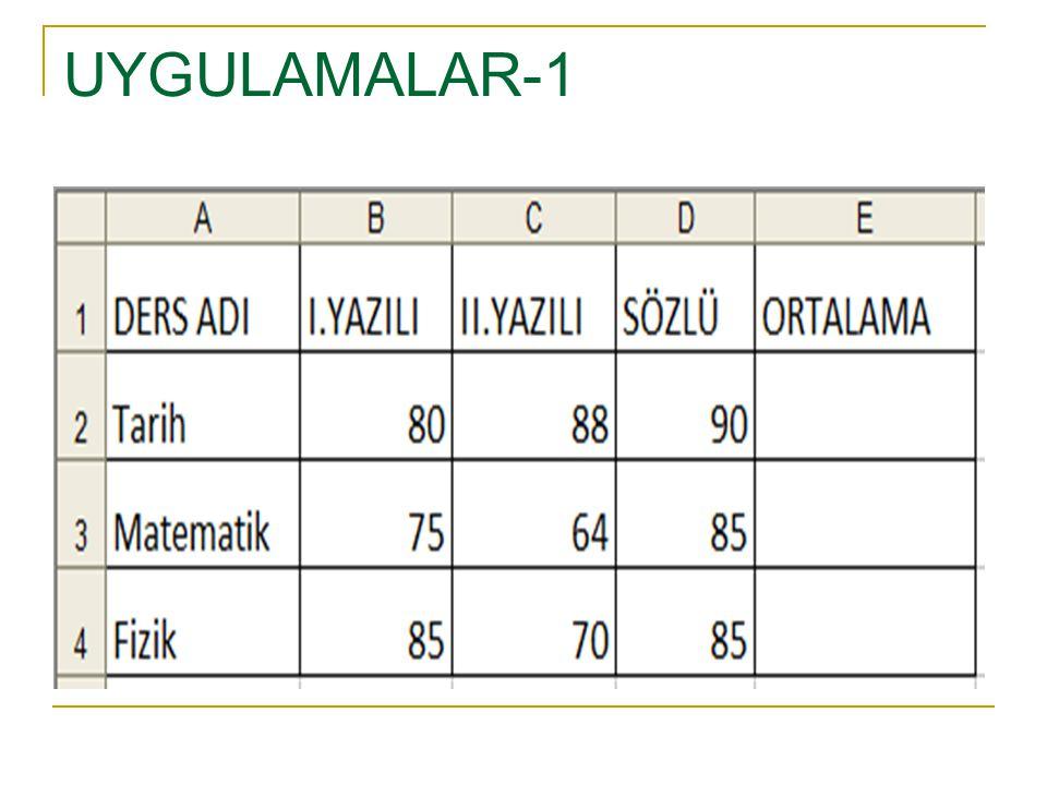 UYGULAMALAR-1