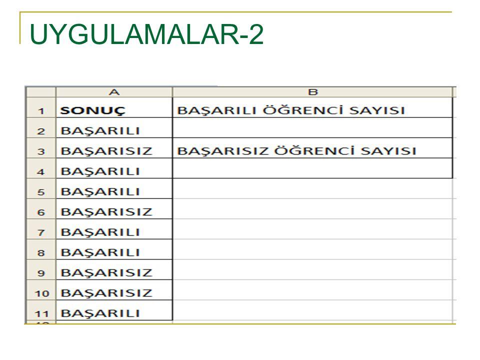 UYGULAMALAR-2