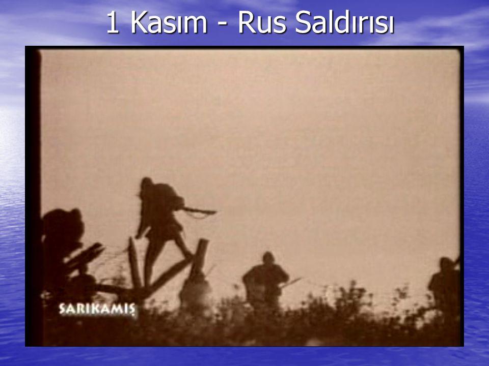 1 Kasım - Rus Saldırısı