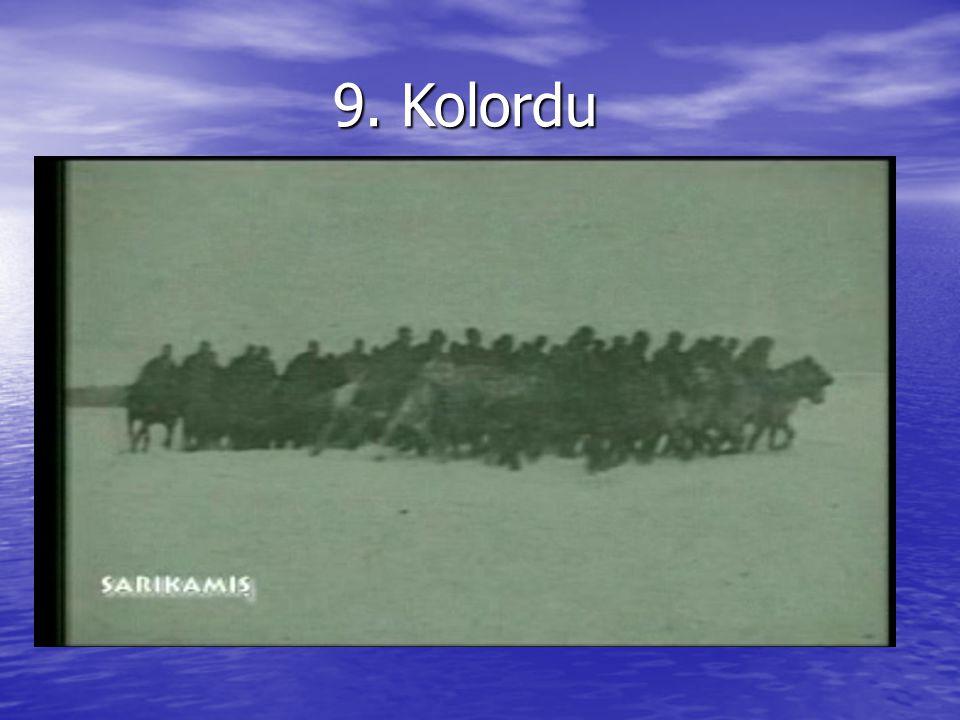 9. Kolordu